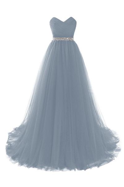 Glorious Strapless Organza A-line Evening Dress_8