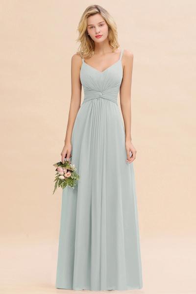 BM0762 Elegant A-line Ruffles Spaghetti Straps Bridesmaid Dress_38