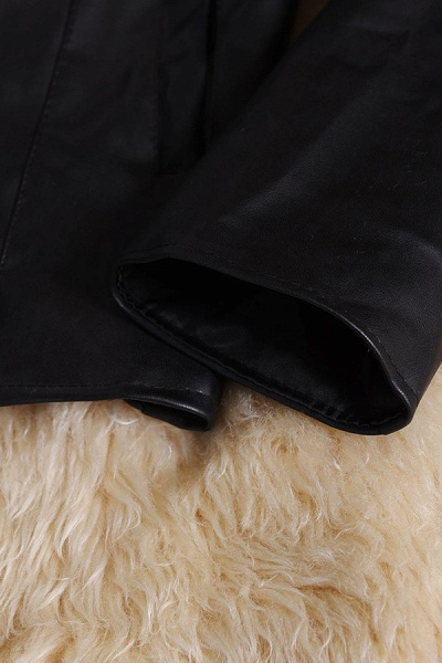 Women's Basic Winter Short Fur Coat_12