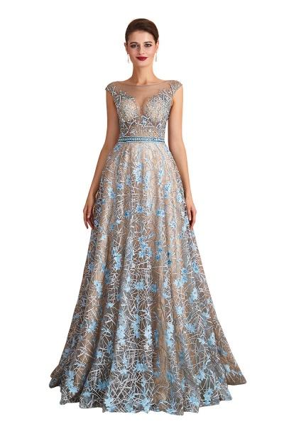 Beautiful Jewel Lace A-line Prom Dress_1