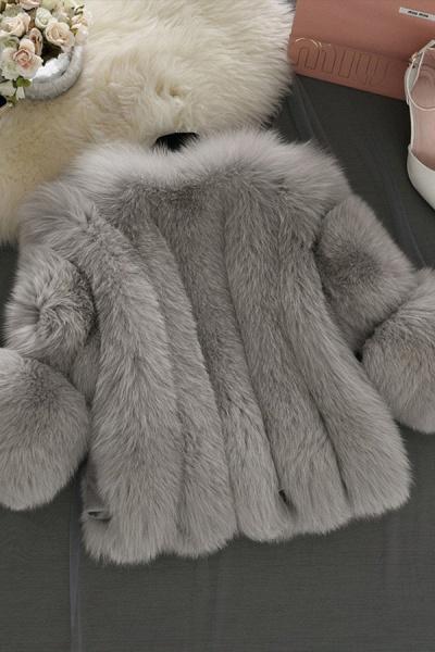 Women's Daily Basic Street Winter Faux Fur Coat_6