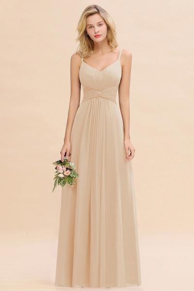 BM0762 Elegant A-line Ruffles Spaghetti Straps Bridesmaid Dress_14