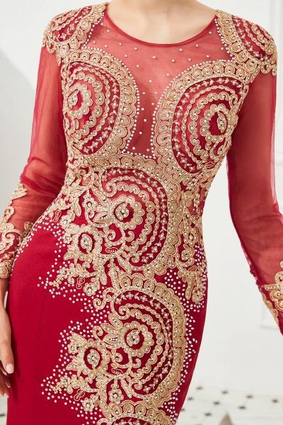 Attractive Jewel Tulle Mermaid Prom Dress_14