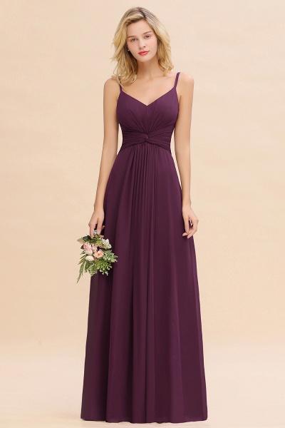 BM0762 Elegant A-line Ruffles Spaghetti Straps Bridesmaid Dress_20