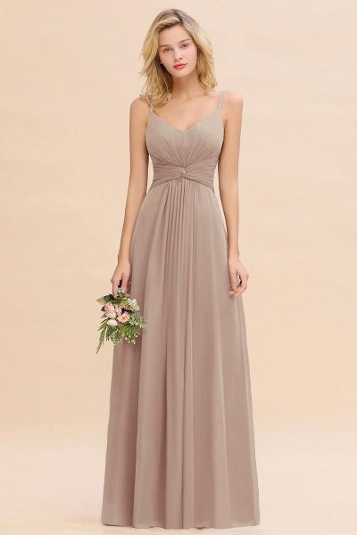 BM0762 Elegant A-line Ruffles Spaghetti Straps Bridesmaid Dress_16
