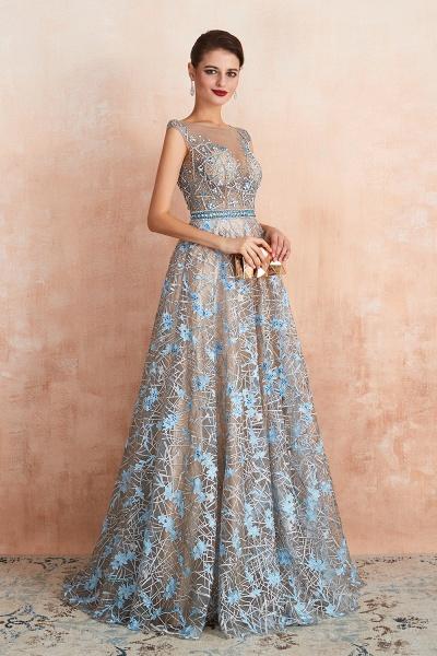 Beautiful Jewel Lace A-line Prom Dress_6