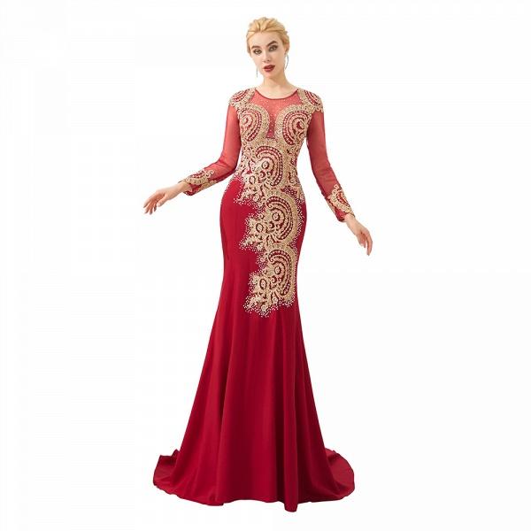 Attractive Jewel Tulle Mermaid Prom Dress_17