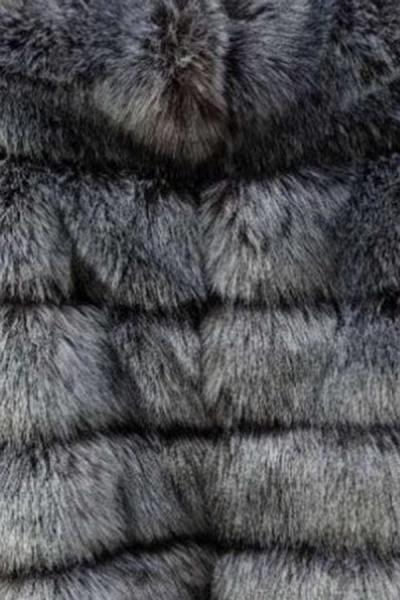 Women's Daily Winter Hooded Faux Fur Coat_8