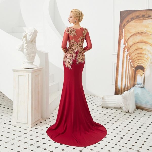 Attractive Jewel Tulle Mermaid Prom Dress_3
