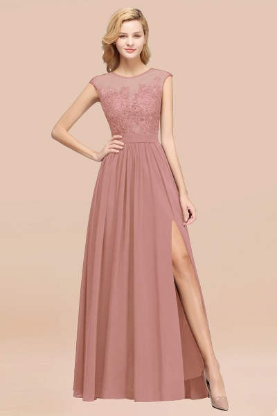 A-line Chiffon Lace Jewel Sleeveless Floor-Length Bridesmaid Dresses with Appliques_50