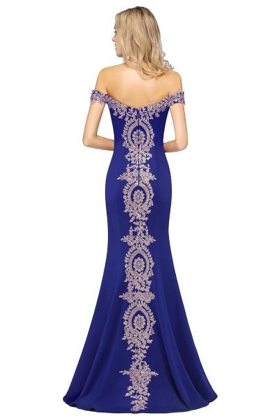 Elegant Bateau Healthy Mermaid Evening Dress_17