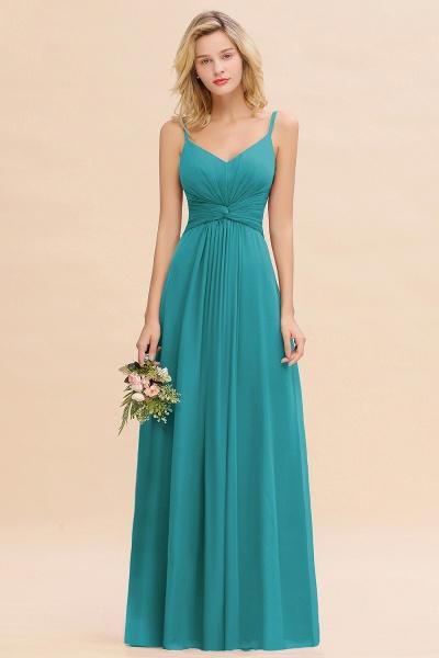BM0762 Elegant A-line Ruffles Spaghetti Straps Bridesmaid Dress_32