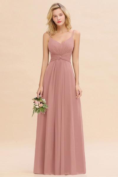 BM0762 Elegant A-line Ruffles Spaghetti Straps Bridesmaid Dress_50