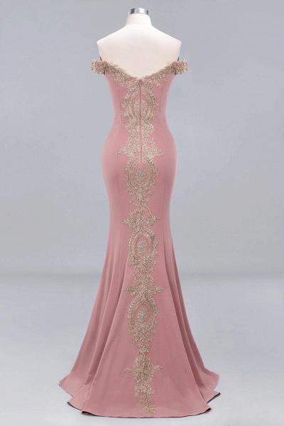 Elegant Bateau Healthy Mermaid Evening Dress_12