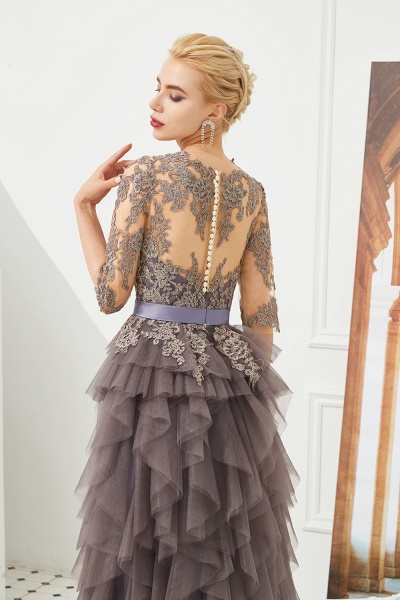 Fabulous Jewel Tulle Ball Gown Prom Dress_8