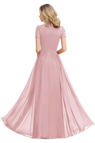 Amazing Chiffon A-line Evening Dress_3