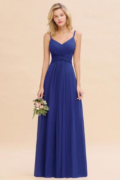 BM0762 Elegant A-line Ruffles Spaghetti Straps Bridesmaid Dress_26