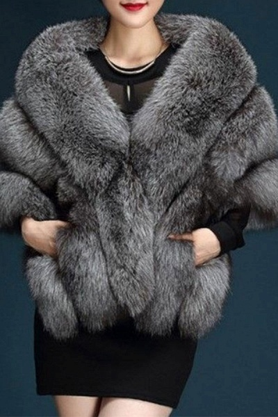 Women's Going out Winter Short Fur Coat_6