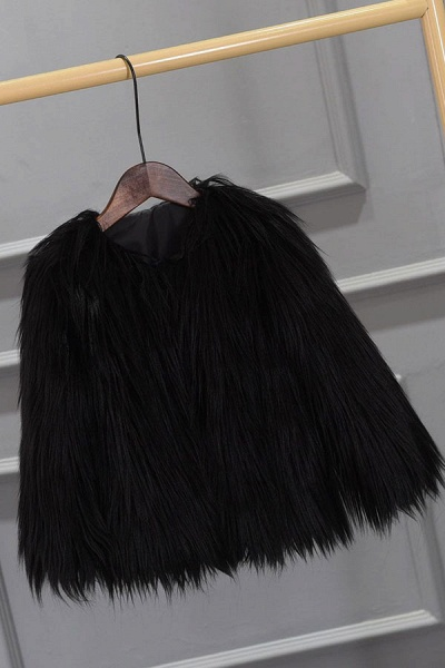Women's Winter Daily Fashion Street Faux Fur Coat_7