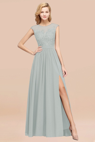 A-line Chiffon Lace Jewel Sleeveless Floor-Length Bridesmaid Dresses with Appliques_38