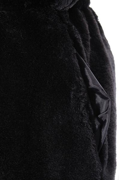Women's Daily Street Hooded Long Faux Fur Coat_7
