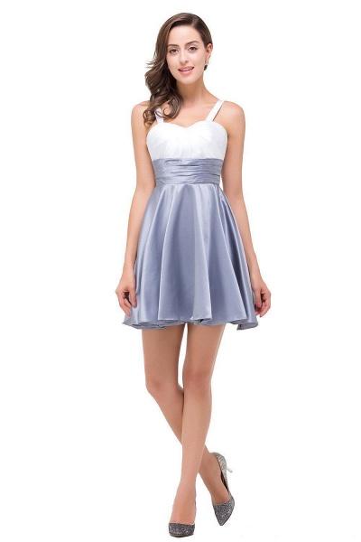 EVANGELINE   A-line Sleeveless Sweetheart Short Chiffon Prom Dresses_1
