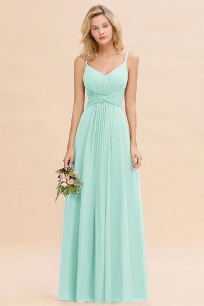 BM0762 Elegant A-line Ruffles Spaghetti Straps Bridesmaid Dress_36