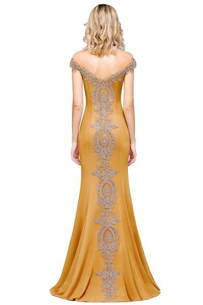 Elegant Bateau Healthy Mermaid Evening Dress_32