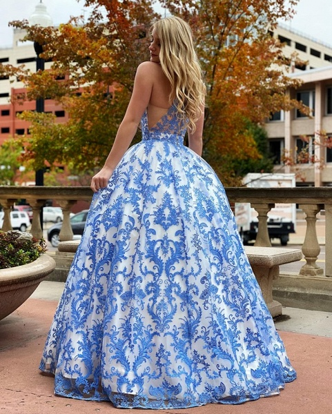 Eye-catching Jewel Lace Ball Gown Prom Dress_2