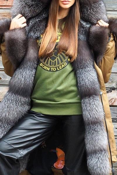 Winter Fur-trimmed Long Faux Fur Coat_3