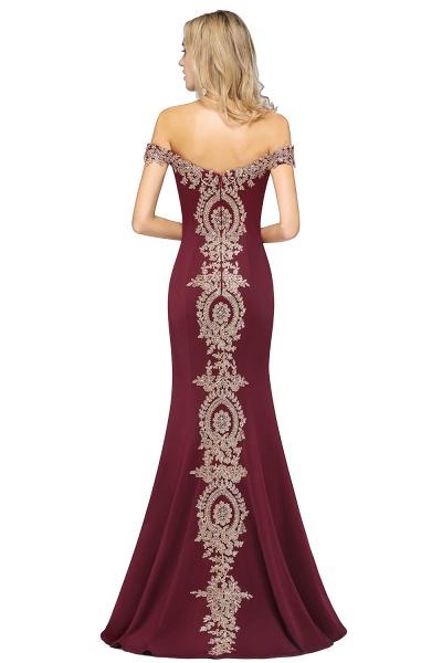 Elegant Bateau Healthy Mermaid Evening Dress_42