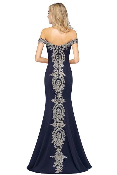 Elegant Bateau Healthy Mermaid Evening Dress_22