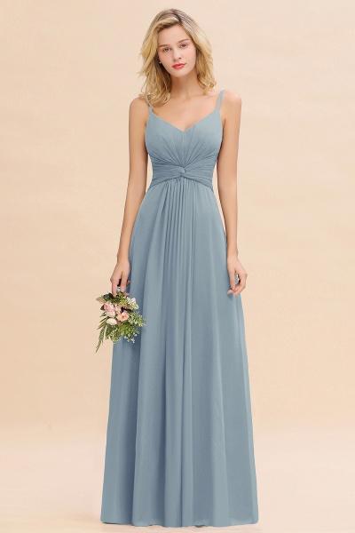 BM0762 Elegant A-line Ruffles Spaghetti Straps Bridesmaid Dress_40