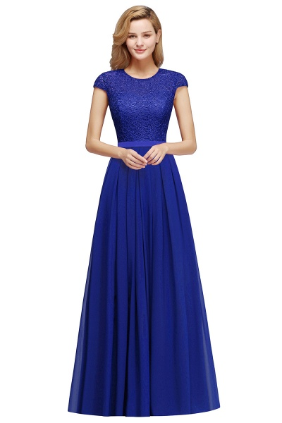 Attractive A-line Evening Dress_5