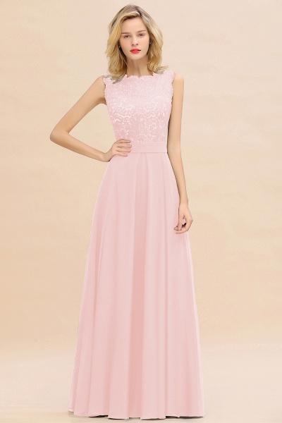 BM0772 Exquisite Scoop Sleeveless A-line Bridesmaid Dress_3