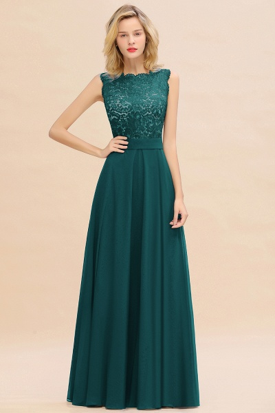 BM0772 Exquisite Scoop Sleeveless A-line Bridesmaid Dress_33
