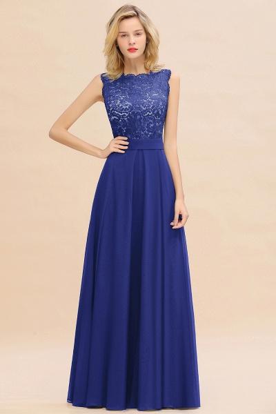 BM0772 Exquisite Scoop Sleeveless A-line Bridesmaid Dress_26