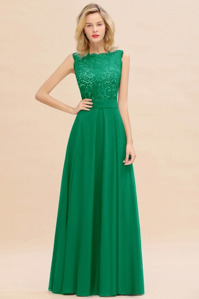 BM0772 Exquisite Scoop Sleeveless A-line Bridesmaid Dress_49