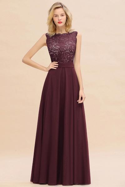 BM0772 Exquisite Scoop Sleeveless A-line Bridesmaid Dress_47