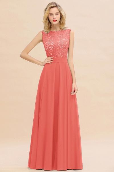 BM0772 Exquisite Scoop Sleeveless A-line Bridesmaid Dress_7