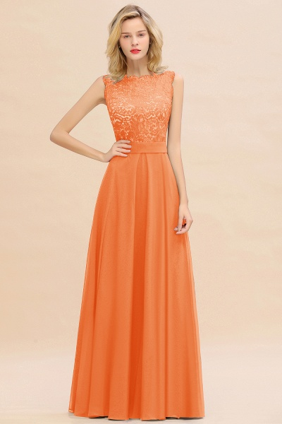 BM0772 Exquisite Scoop Sleeveless A-line Bridesmaid Dress_15