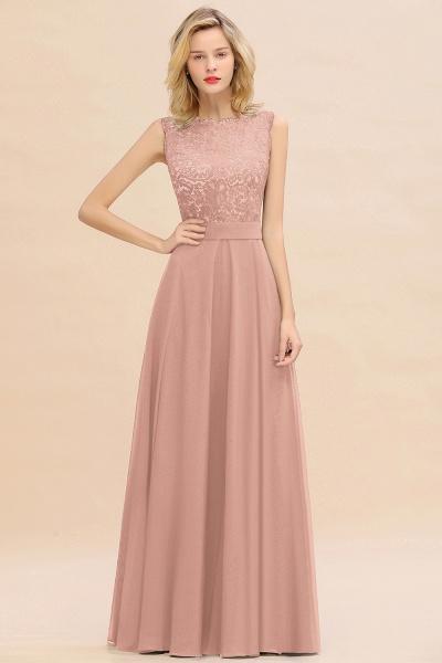 BM0772 Exquisite Scoop Sleeveless A-line Bridesmaid Dress_6