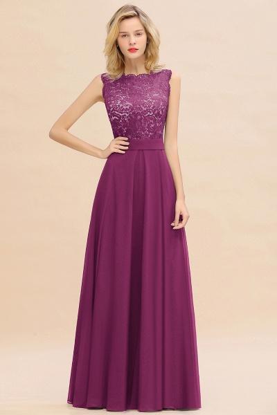 BM0772 Exquisite Scoop Sleeveless A-line Bridesmaid Dress_42