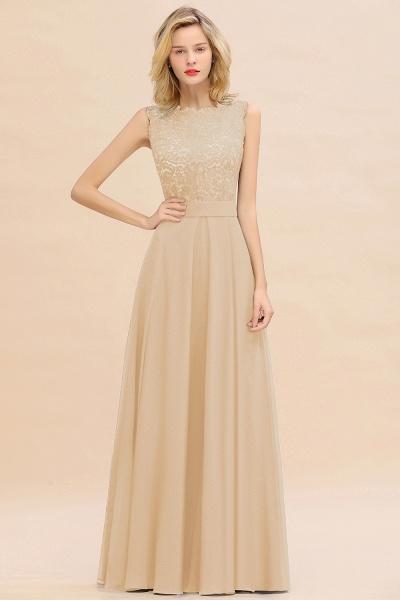 BM0772 Exquisite Scoop Sleeveless A-line Bridesmaid Dress_14
