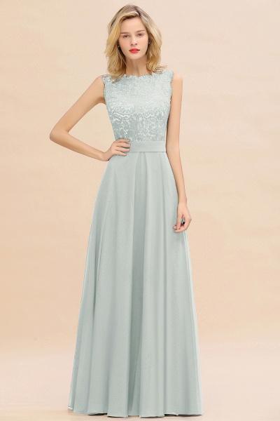 BM0772 Exquisite Scoop Sleeveless A-line Bridesmaid Dress_38