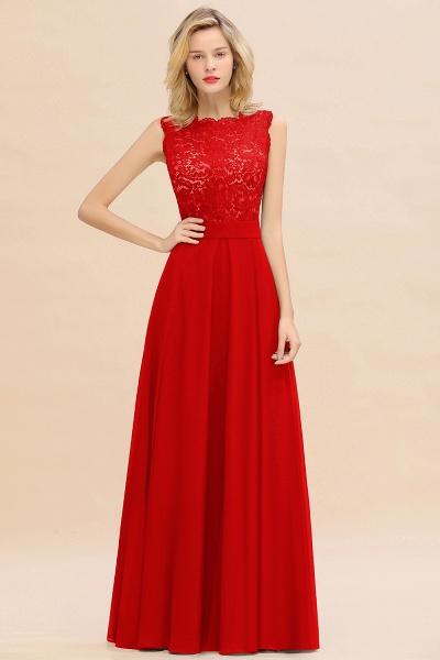 BM0772 Exquisite Scoop Sleeveless A-line Bridesmaid Dress_8
