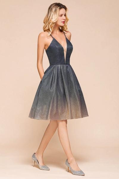 Cute Spaghetti Strap Lace-up Short Prom Dress_7