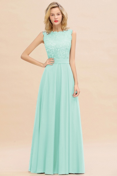 BM0772 Exquisite Scoop Sleeveless A-line Bridesmaid Dress_36
