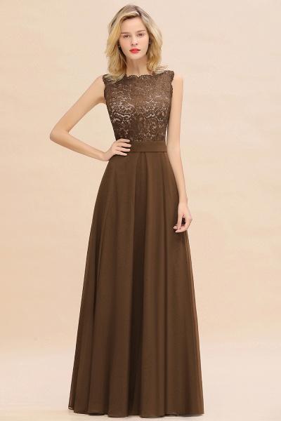 BM0772 Exquisite Scoop Sleeveless A-line Bridesmaid Dress_12