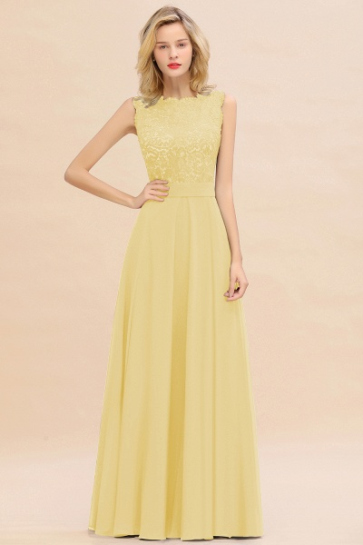 BM0772 Exquisite Scoop Sleeveless A-line Bridesmaid Dress_18